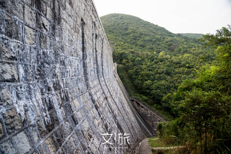 大潭中水塘水壩亦是法定古蹟之一,具悠久歷史。